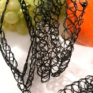 8 Pack Hot Exotic Stretch Elastic Choker Necklace